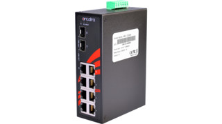 LNX-0802C-SFP Series Ethernet Switch