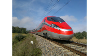 Frecciarossa 1000 Very High Speed Train Makes Maiden Journey in Italy