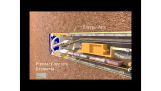 CHSRA Animation of Tunnel Boring Machine