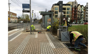 TriMet Max Platforms to Close for e-fare Construction
