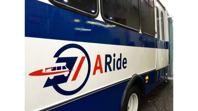 TheRide to Contract Blue Cab for Paratransit Services