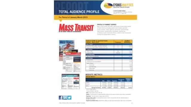 Mass Transit TAP Report 2015 Q1
