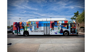 Valley Metro Unveils Winning Design a Transit Wrap Artwork