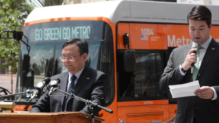 Electric Bus and BYD Event