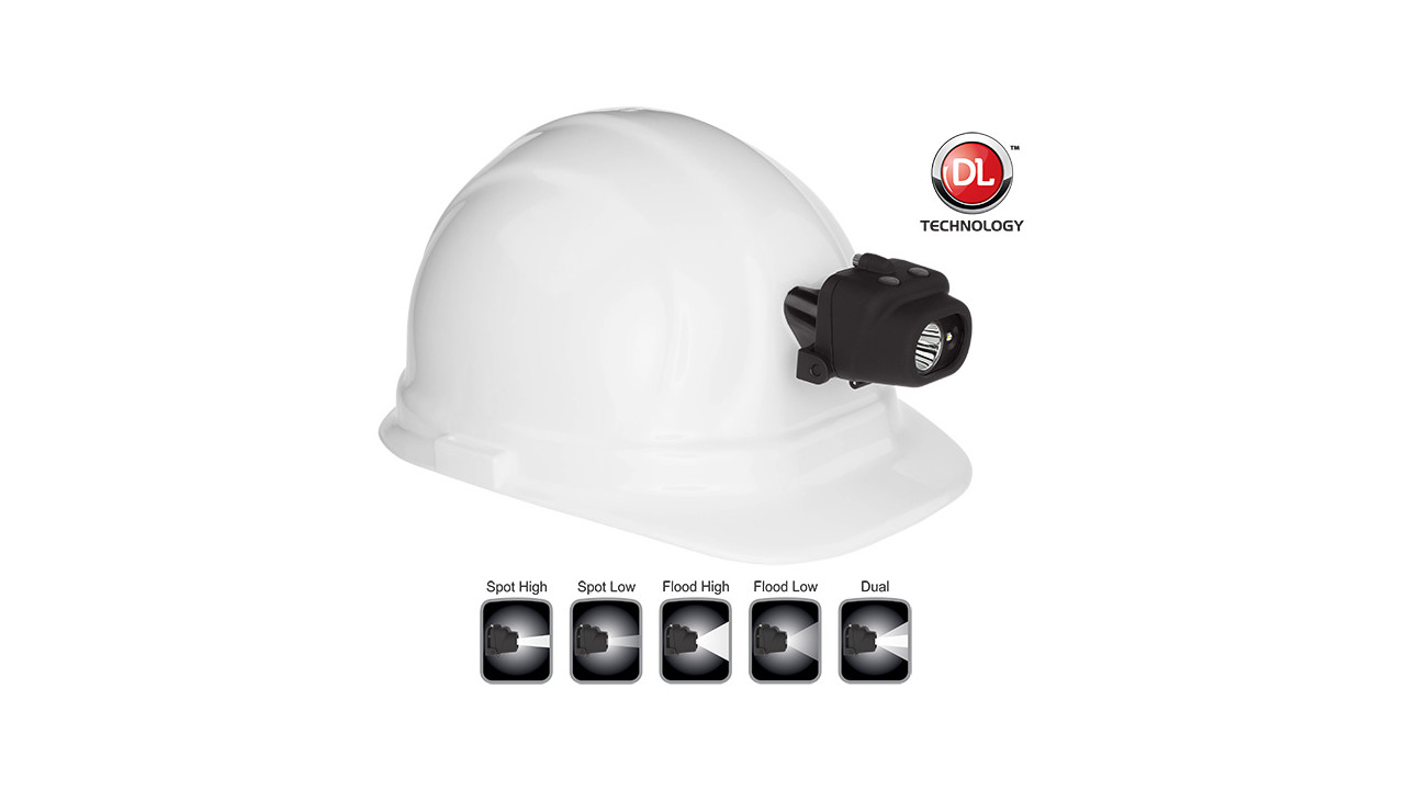Nsp 4608bc Dual Light Multi Function Headlamp With Hard