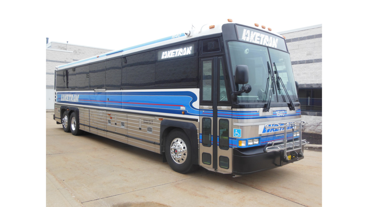 Laketran has taken delivery of 14 MCI Commuter Coaches | Mass Transit