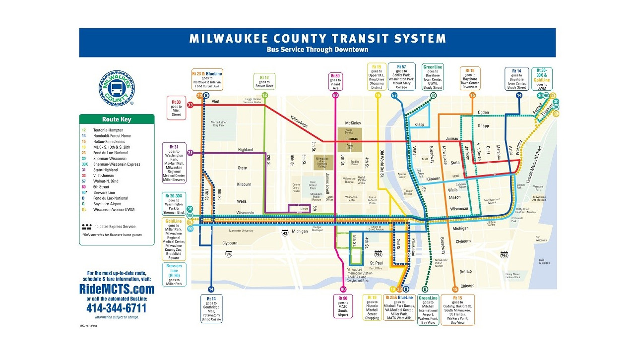 mct bus routes - the best bus