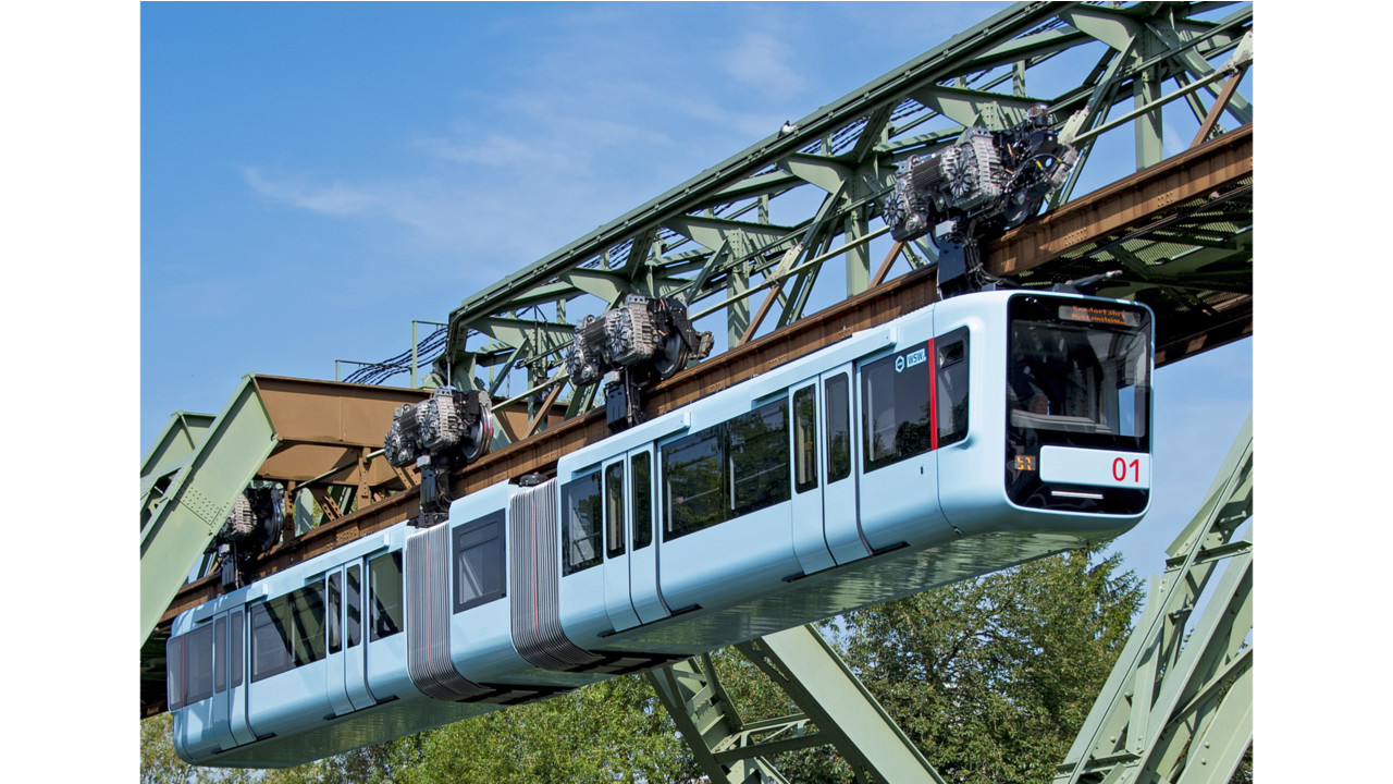 Wuppertal suspension railway operates more quietly thanks