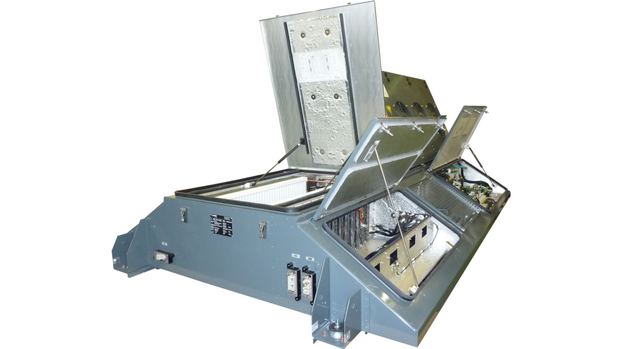 Hkl751 Co2 Air Conditioning Unit For Railway Vehicles