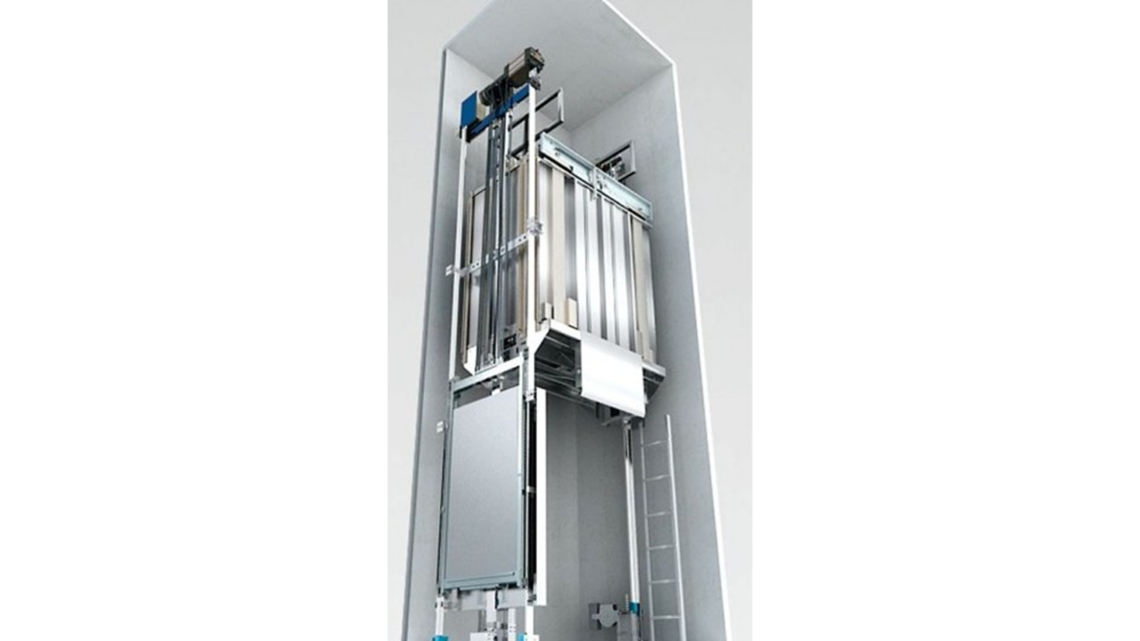 Choice Motor Credit >> New Schindler 3100 Machine Room-Less Traction Elevator ...