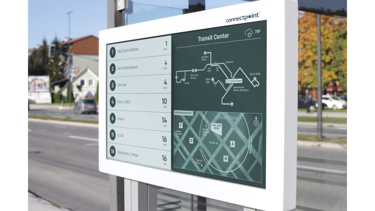 March Products Digital Signage And Passenger Information