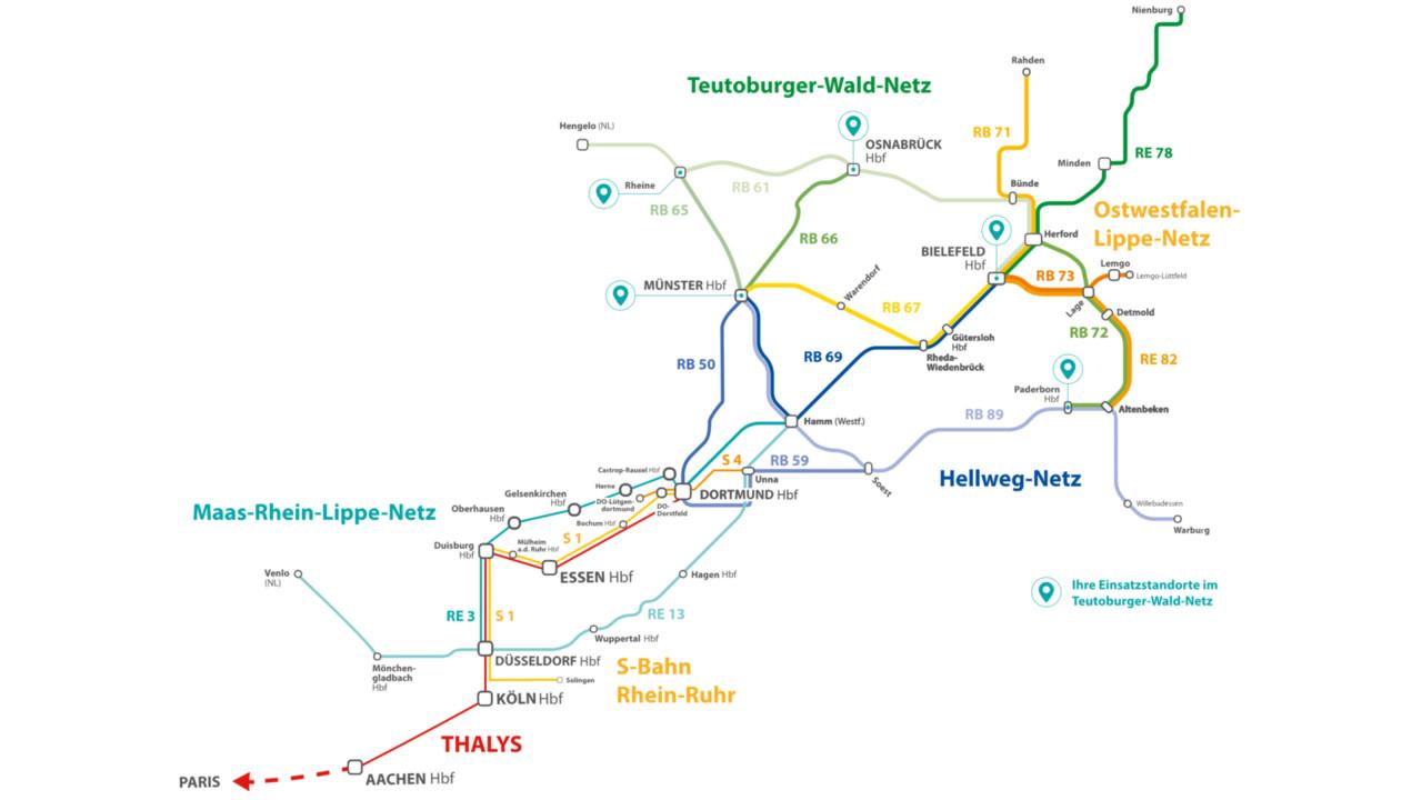 Keolis Starts Operation of Regional Train Network in North Rhine