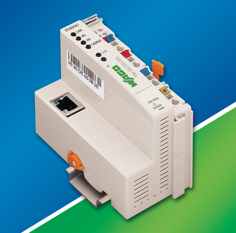 Wago Corp  750-352 ECO Ethernet Fieldbus Coupler in Rail