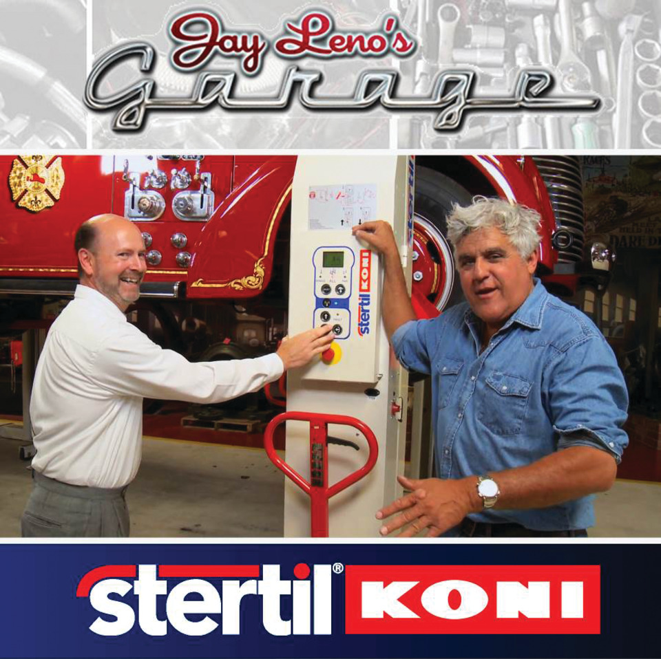 Jay Leno S Garage Features Proper Use Of Heavy Duty