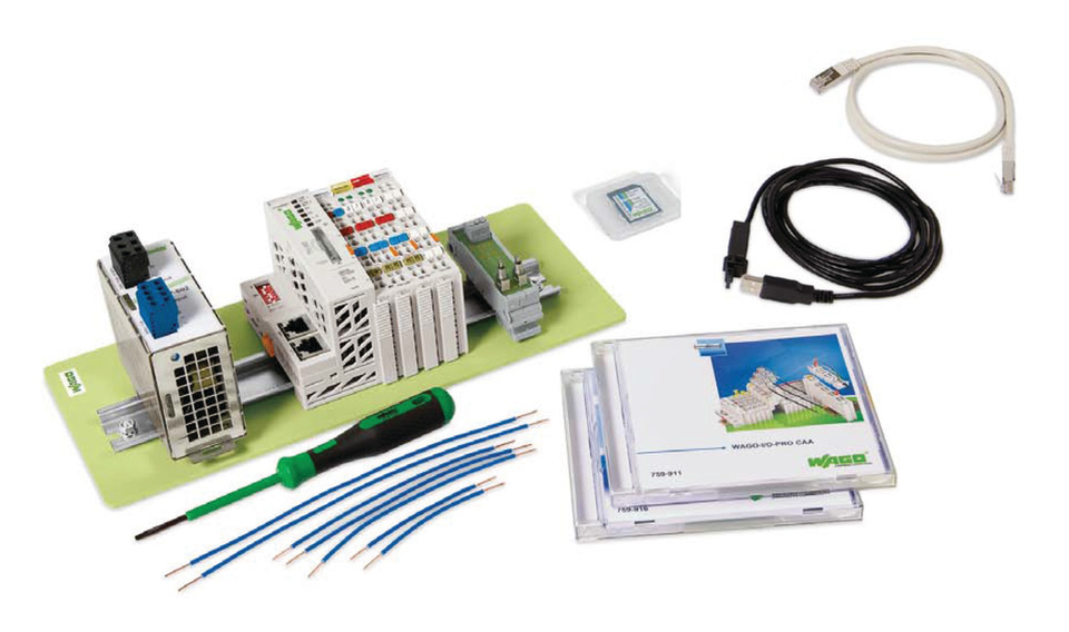 Wago Offers Ethernet Starter Kits
