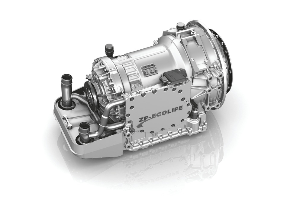 ZF EcoLife 6-Speed Automatic Transmission in Home