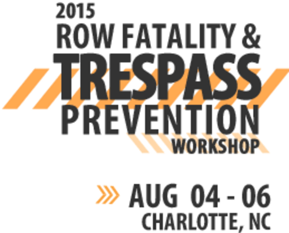 FRA Announces 2015 Right-of-Way Fatality & Trespass