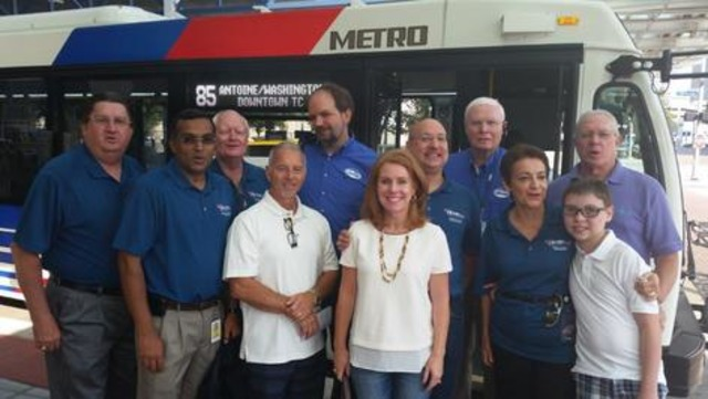 Metro Leaders Launch New Bus Network with a Ride