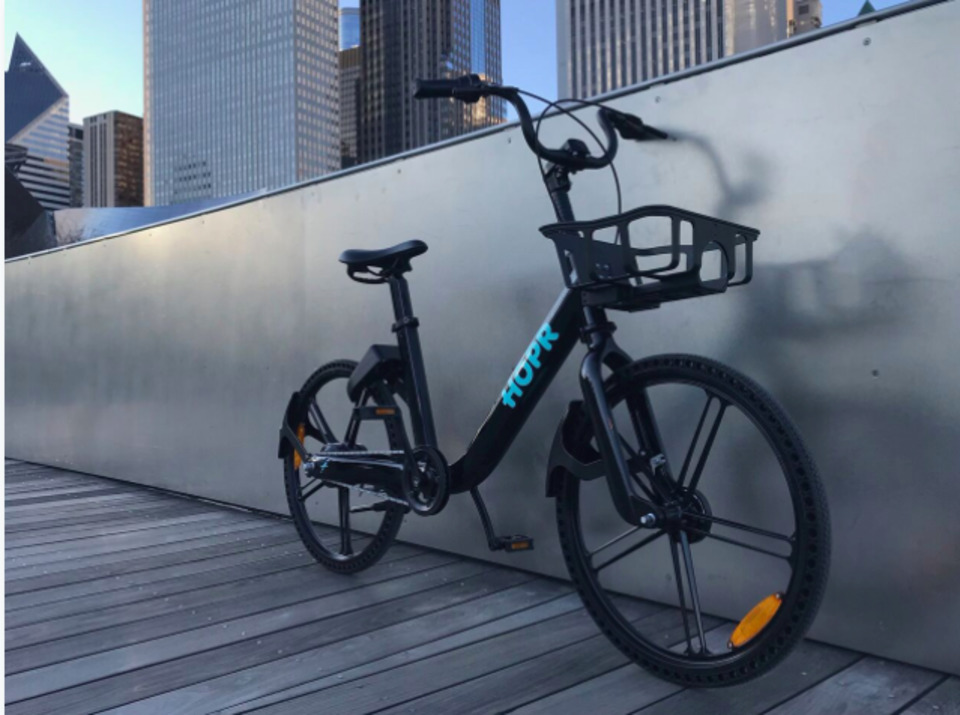 HOPR Introduces the First Dockless Electric Bike for Bike Share with