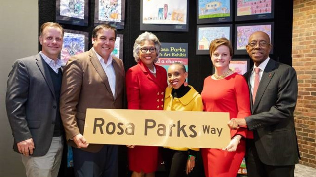 Congresswoman Joyce Beatty Cota And Osu Pay Tribute To Rosa Parks