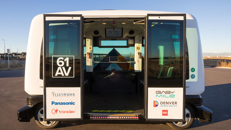 RTD and partners launch first autonomous shuttle in Colorado