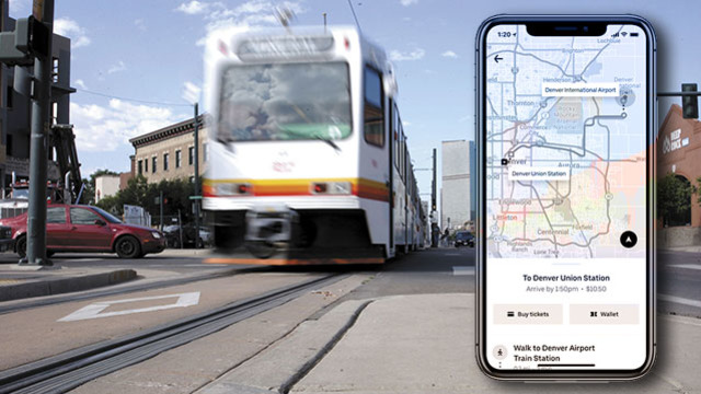 Denver transit riders can now purchase tickets through the Uber app