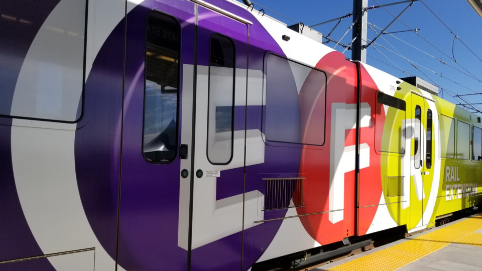 RTD of Denver opens the E, F and R Rail Extension