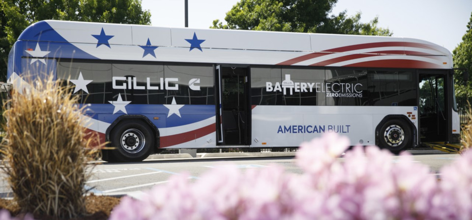 GILLIG previews new zero-emission battery electric bus
