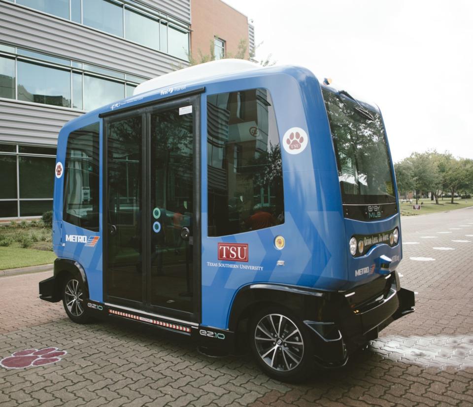 First Transit, TSU and Metro Houston partner for AV pilot