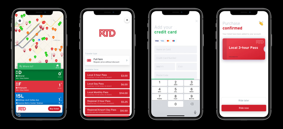Denver RTD, Transit and Masabi launch in-app ticketing