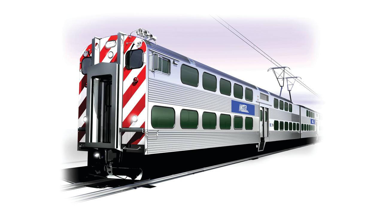 Metra Highliner Emu Car Mass Transit