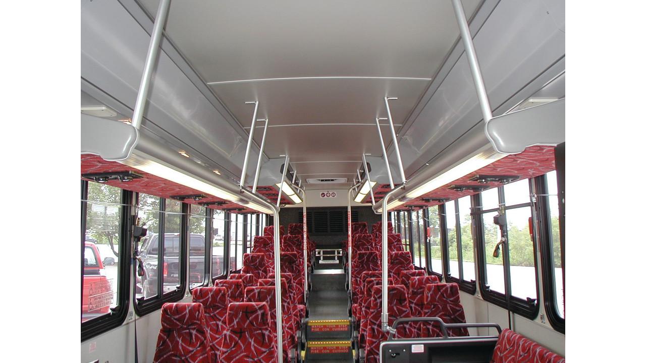 passenger interior lighting mass transit. Black Bedroom Furniture Sets. Home Design Ideas