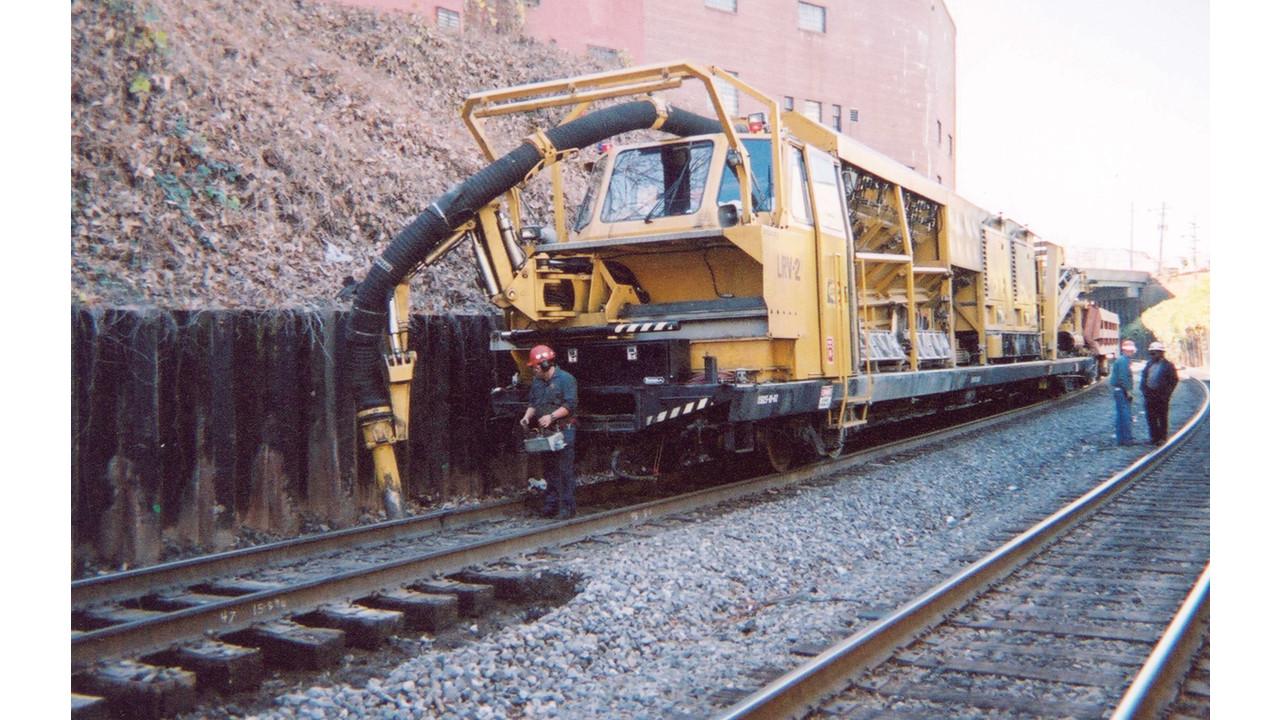 Railvac Excavator Mass Transit