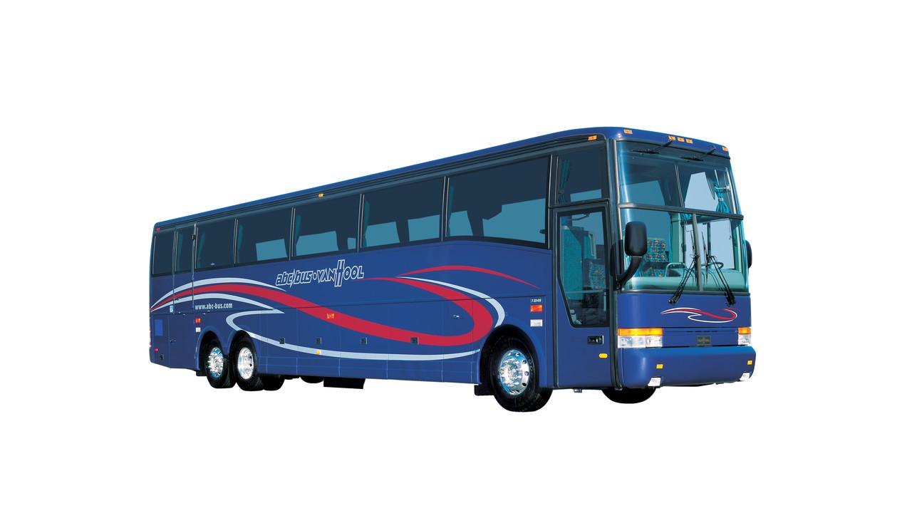 Van Hool T2100 Series Motorcoach Mass Transit