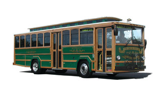 Golden Gate Transit Model Trolley