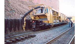 Railvac Excavator