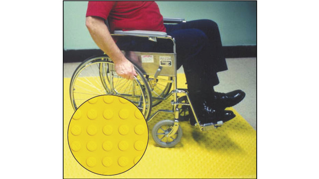 Step-Safe Tactile Dome Safety Tiles
