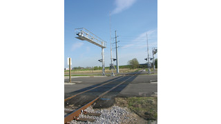 Hi-Rail Full Depth Rubber Grade Crossing