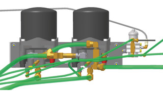 Tandem Air Drying System
