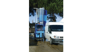 Pony Hybrid Diesel/Electric Power Traction Truck Wash Machine