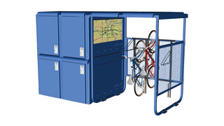 CyclePort Bicycle Shelter System
