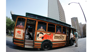 The T outfits trolleys for Racing When NASCAR Comes to Fort Worth