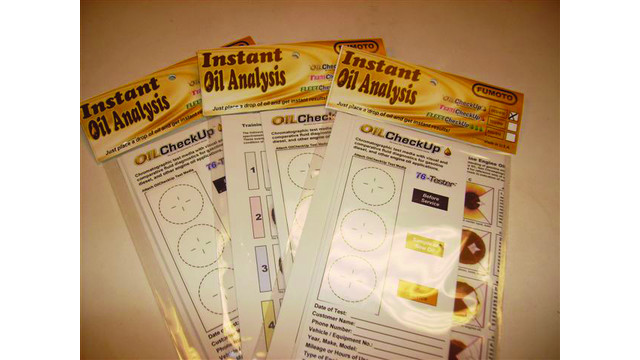 $1 Instant Oil Analysis