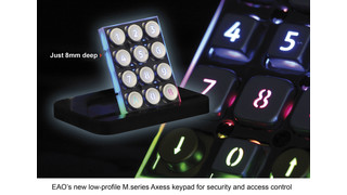 Rugged, Vandal Resistant Keypads from EAO
