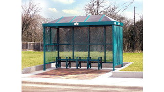 Bus Stop Shelters Deep in the Heart of Texas