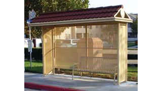 Tolar Sierra Series Transit Shelters