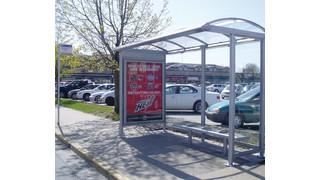 Tolar Euro Series Transit Shelters