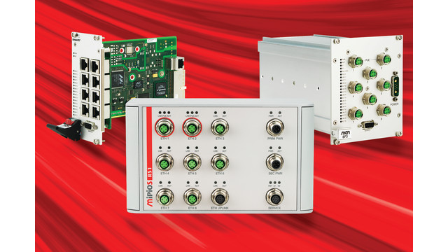 Extended Firmware for MEN Micro Rugged Ethernet Switches Facilitates Data Management