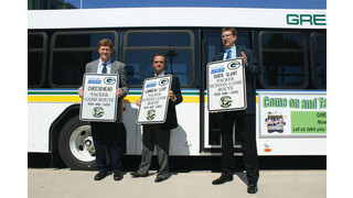 Green Bay Metro Partners with the City of Green Bay and the Green Bay Packers