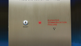 Line Monitoring Alert Panel Meets Elevator Codes
